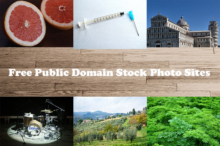 Public Domain Stock Photos Sites