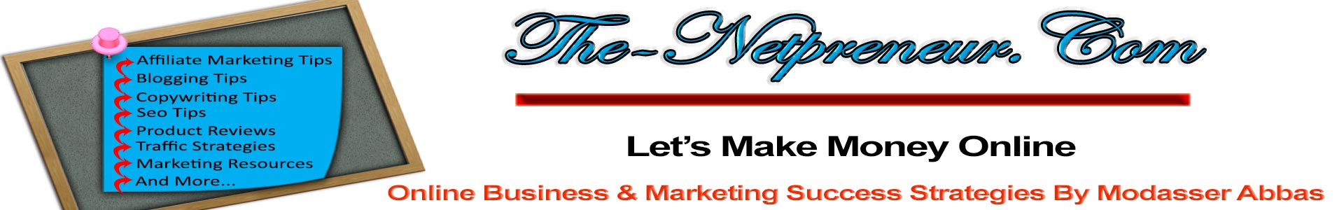 The-Netpreneur's Affiliate Marketing Strategies