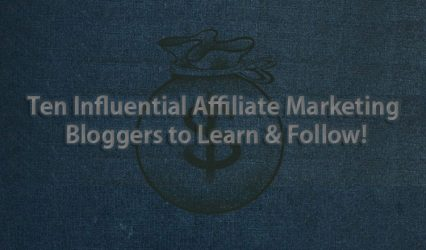 Affiliate Marketing top bloggers list